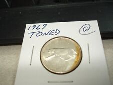 TONED - 1967 - Canada Silver quarter - Canadian 25 cent
