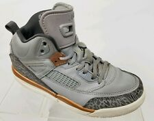 c317fb5a4f53 AIR JORDAN Spizike 40a Youth Basketball Shoes Gray Sneakers 535708-018 Sz 2Y