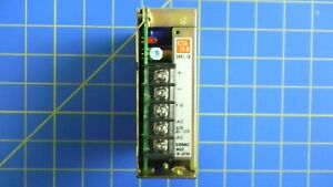 Cosel K25A-24-N Power Supply, 24VDC, 1.1A, 85~132V, Used
