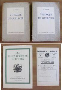 Swift VOYAGE DE GULLIVER - De La Pleiade I ed. 1929 Tirat Limit. ill. BOULLAIRE*