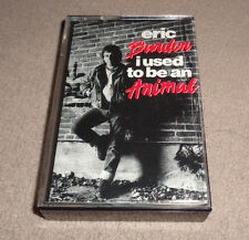 Eric Burdon ‎– I Used to Be an Animal - Striped Horse - Cassette Tape - 1988 EX