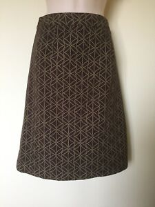 Boden Lined Cotton Skirt Size 12