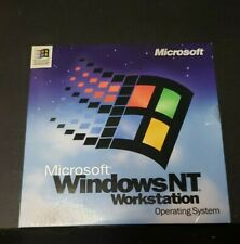 Vintage Microsoft Windows NT 4.0 Workstation Good Condition