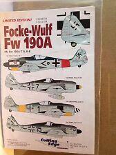 Cutting Edge 1/48 CED48104 &  1/72 CED48104 Focke-Wulf Fw 190 A #4