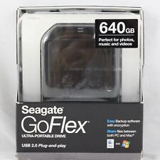 Seagate GoFlex 640GB Ultra Portable HD Hard Drive USB 2.0 STAA640600 BRAND NEW