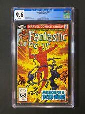 Fantastic Four #233 CGC 9.6 (1981) - Hammerhead app - Human Torch cover