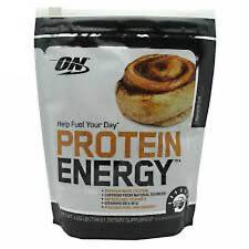 Optimum Nutrition Protein Energy - 1.72lbs. 52 Servings (Cinnamon Roll) ON Whey