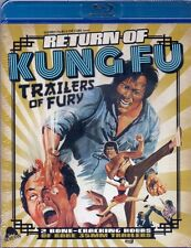 Return of Kung Fu Trailers of Fury Blu-ray Severin comp 2017 Chuck Norris