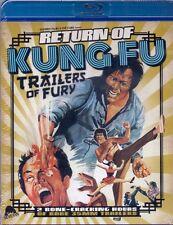 Return of Kung Fu Trailers of Fury Blu-ray Severin comp 2017 Chuck Norris
