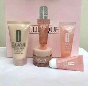 New CLINIQUE Moisture Surge set - Hydrator,Mask,Concentrate,Lip and Eye