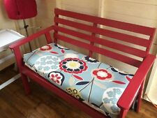 Made to measure bench cushion. Window seat cushion. Bench pad quote.