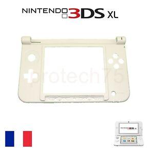 Coque chassis inférieur blanche pour Nintendo 3DS XL Pièce de remplacement 3dsxl