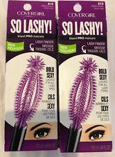 2 CoverGirl Blast Pro So Lashy Mascara #810 BLACK BROWN