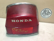1978-81 HONDA CX500 750 TAIL LIGHT ASSEMBLY OEM 33700-415-672