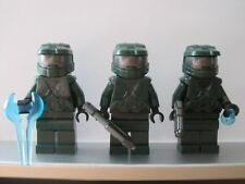Lego HALO Trio Dark Green SPARTAN MASTER CHIEF Minifig NEW