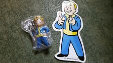 Bethesda Fallout 3 Promo Key Chain & Sticker from Best Buy Pre-Order Rare