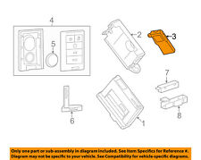 GM OEM Keyless Entry-Receiver 13586853