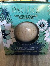 New! Pacifica Coconut Rehab Bath Bomb 4.6 oz Free Shipping
