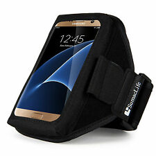 SumacLife Armband Case For Samsung Galaxy S7 Running Pouch Cover Phone Holder