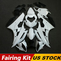 Unpainted Fairing Kit For Yamaha YZF R6 2006-2007 Aftermarket ABS Injection Set