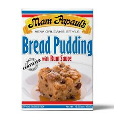 BREAD PUDDING W/ RUM SAUCE -FREE SHIPPING!