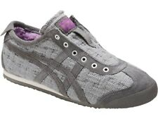 ONITSUKA Tiger Women's Mexico 66 Slip-on Shoes D7L8N Aluminum Size: 7.5 US