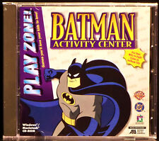 Play Zone: Batman Activity Center (CD, 1996 Knowledge)