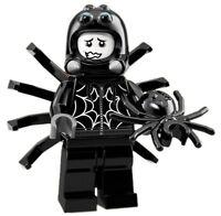 Spider Suit Boy Lego Minifigures Series 18 71021