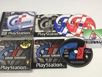 Gran Turismo 1 & 2 PlayStation PS1 Games Bundle