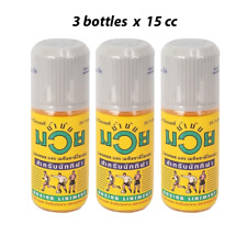 3 x 15cc Nam Man Muay Boxing Liniment Oil (Thai) Massage for Relief Muscle Pain
