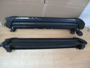 Yakima PowderHound 4 Ski Snowboard Roof Rack Set w/Mounts