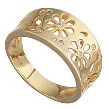 Mm) mit echtem Edelmetall ohne Steine aus Gelbgold für Damen (18,4 Ø 58 Ringe