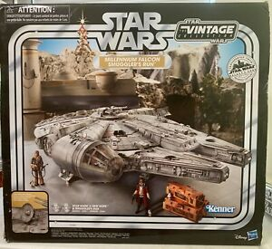 Star Wars The Vintage Collection Galaxy's Edge Millennium Falcon *MISSING PARTS*