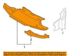 BMW OEM 06-10 M6 Splash Shield-Front Under Engine Cover 51758042976