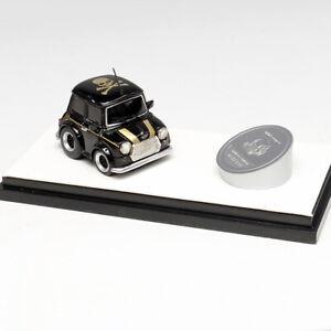 Timothy&Pierre 1:64 Scale MMJ Mini Cooper Q Car Black Limited Resin Car Model