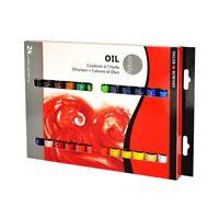 Set colori ad olio 12 e 24 pz DALER ROWNEY SIMPLY OIL tubi da 12 ml