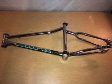 Vintage HARO Race Fusion Chrome Freestyle BMX Bike Bicycle Frame