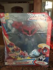 Hasbro Transformers Animated Supreme - Roll Out Command Optimus Prime Action...