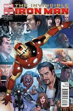 INVINCIBLE IRON MAN #527 (2012) MARVEL COMICS LARROCA VARIANT COVER FINAL ISH NM