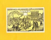 ROSTOCK (ALLEMAGNE) BILLET-MONNAIE de NECESSITE illustré HOMME en ARMURE en 1922