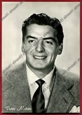 VICTOR MATURE 07 ATTORE ACTOR ACTEUR CINEMA MOVIE - USA Cartolina REAL PHOTO