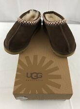 UGG Australia Kids Tasman Slippers Suede Shoes 5252 K Chocolate Youth Size 11