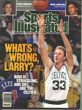 1989 Sports Illustrated LARRY BIRD Boston Celtics  Immaculate  NO LABEL!