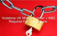 IPhone 6 6 Plus 6s 6s Plus Vodafone UK factory & Permanent Unlocking / Unlock