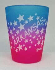 Arkansas colorful shot glass