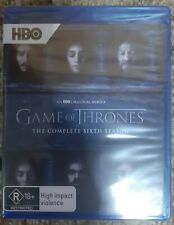 Game of Thrones: The Complete 6th Season (Blu-ray Disc, 2016, 4-Disc Set)
