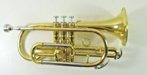 Yamaha Bb Cornet model YCR2330 - yellow lacquer with Besson 7 mouthpiece