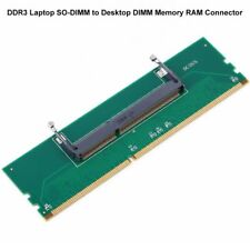 Hot Sale Green DDR3 Laptop SO-DIMM to Desktop DIMM Memory RAM Connector Adapter
