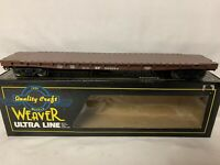 ✅WEAVER SOUTHERN PACIFIC 50' FLAT CAR! FOR O SCALE TRAIN SET UNION SP LOAD