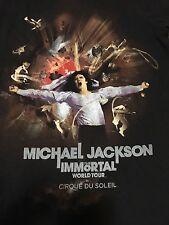 Michael Jackson Immortal World Tour Small T Shirt